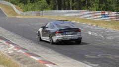 Audi RS5-R: foto spia del facelift ABT al Nürburgring