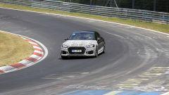 Audi RS5-R: foto spia del facelift ABT in pista al Nürburgring