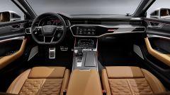 Audi RS6 Avant 2019, gli interni