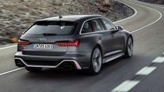 Audi RS6 Avant 2019, il posteriore