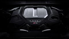 Audi RS6 Avant 2019, il vano motore