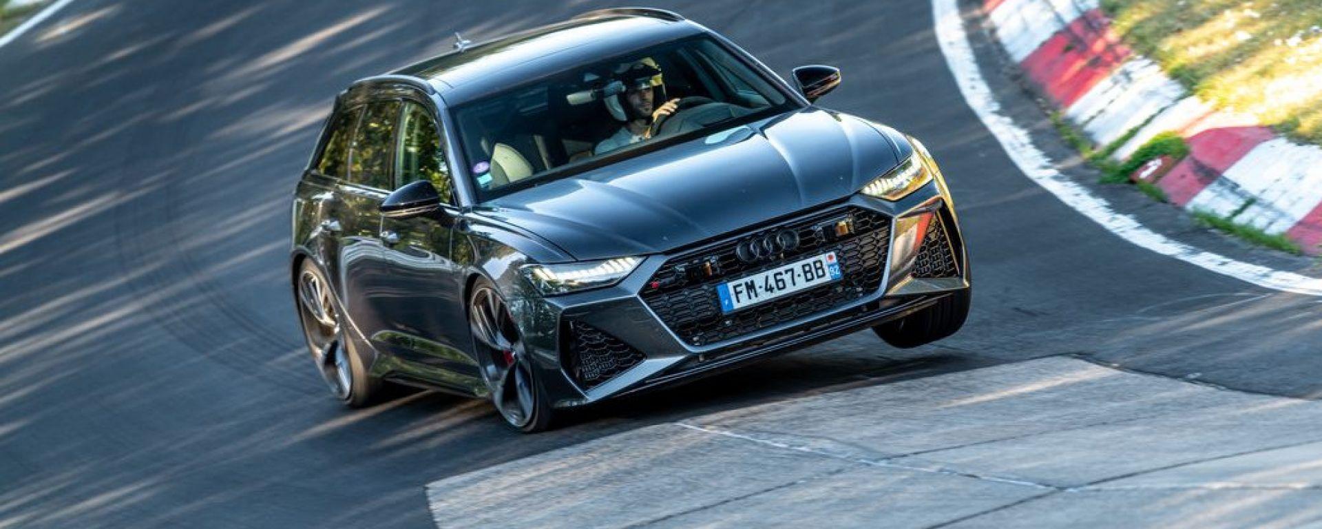 Audi RS6 Avant al Nurburgring
