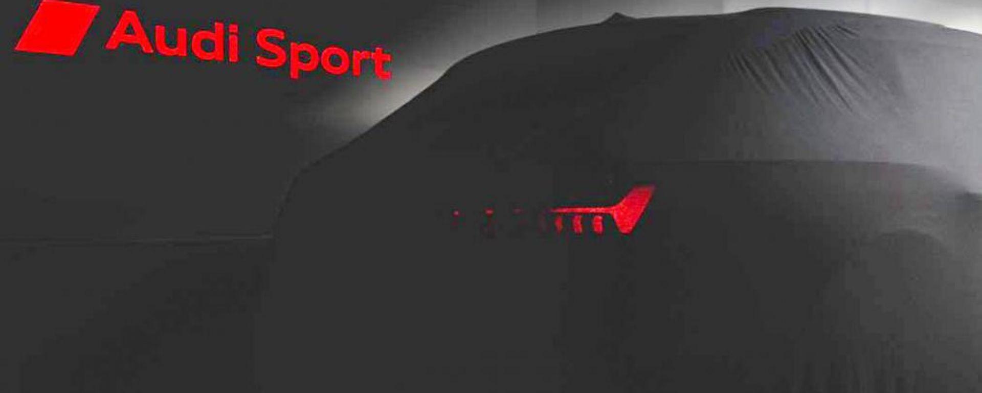 Audi RS6 Avant: il teaser