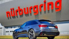 Audi RS6 Avant: posteriore