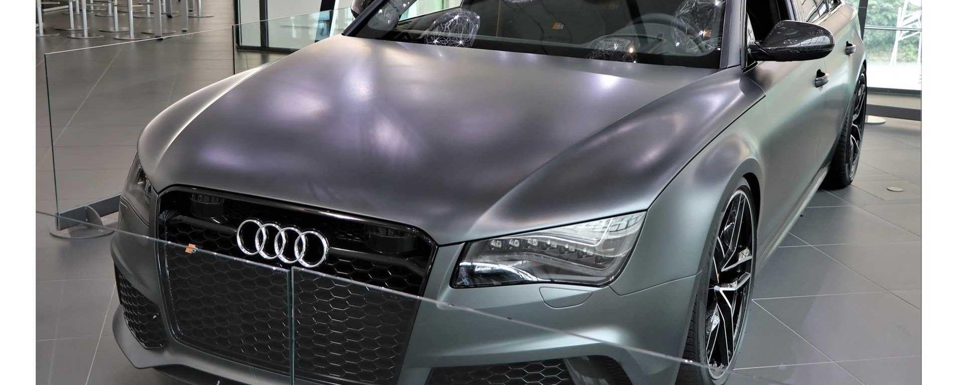 Audi RS8: da fuori