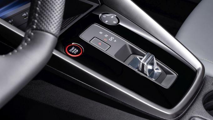 Audi S3 Sedan: il selettore del cambio