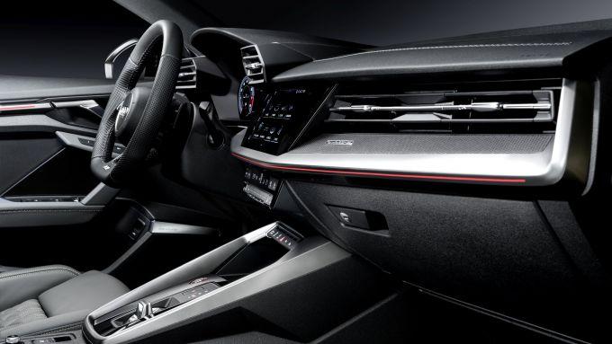 Audi S3 Sedan: particolare degli interni