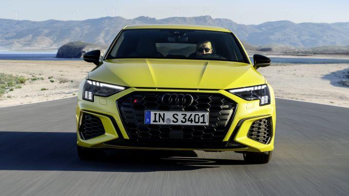 Audi S3 Sportback: visuale frontale