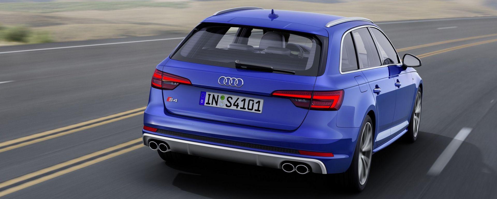 Audi S4 2016: la Avant al Salone di Ginevra