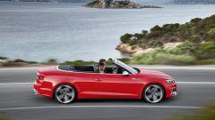 Audi S5 Cabrio: lo 0-100 avviene in appena 5,1 secondi