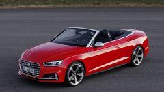 Audi S5 Cabrio: vista 3/4 anteriore