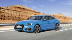 Audi S5 Sportback 2020: vista 3/4 anteriore