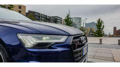 Audi S6 Avant TDI quattro tiptronic 2019: dettaglio del gruppo ottico anteriore