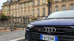 Audi S6 Avant TDI quattro tiptronic 2019: dettaglio della calandra