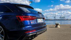 Audi S6 Avant TDI quattro tiptronic 2019: il posteriore