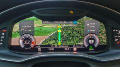 Audi S6 Avant TDI quattro tiptronic 2019: la strumentazione digitale Virtual Cockpit