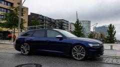 Audi S6 Avant TDI quattro tiptronic 2019: un altro scatto ad Amburgo, con l'Opera sullo sfondo