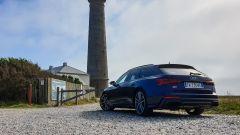 Audi S6 Avant TDI quattro tiptronic 2019: vista 3/4 posteriore