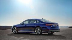 Audi S8 2019: il posteriore