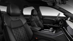 Audi S8 2019: rivestimenti interni