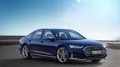 Audi S8 2019: Vista 3/4 anteriore