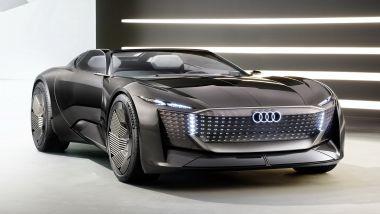 Audi Skysphere: lunghezza variabile per trasformarsi da sportiva a comoda granturismo