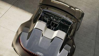 Audi Skysphere: senza il tetto in tela per la versione roadster a cielo aperto