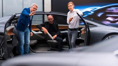 Audi Sphere Concept: il team di lavoro durante lo studio del design