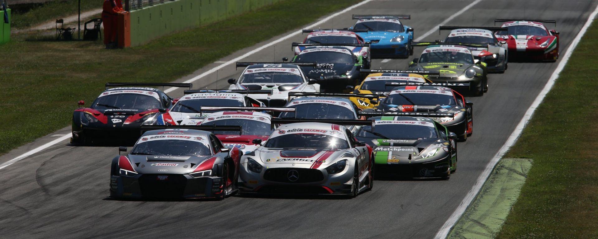 Audi Sport Italia - Campionato Italiano GT, Monza 2017