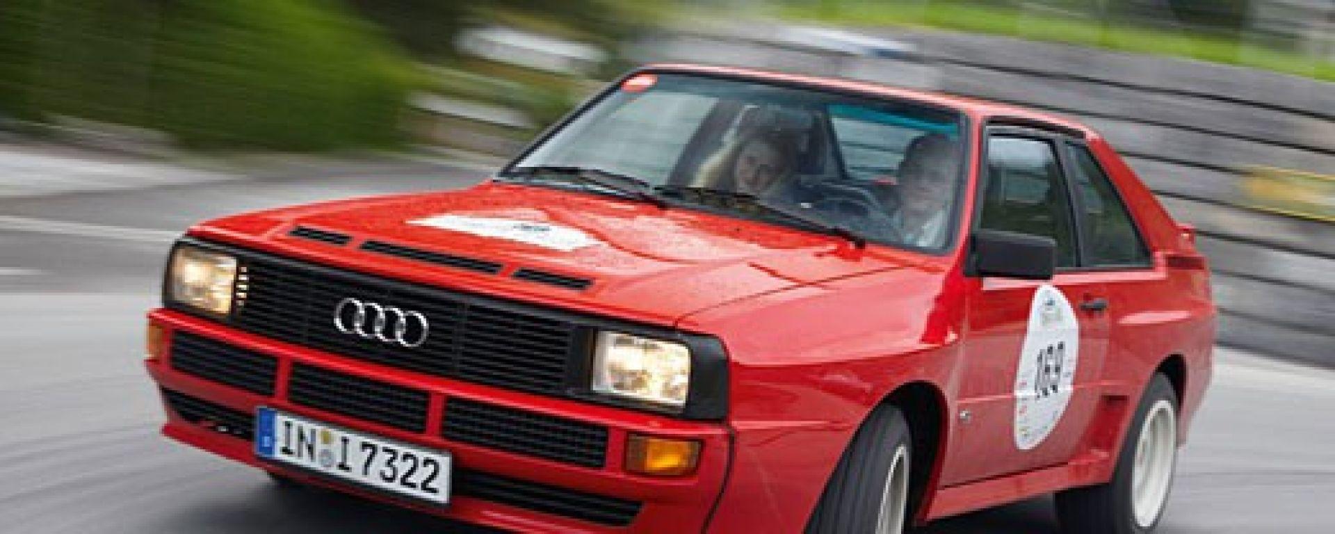 Audi Sport Quattro: rinnegata dal padre