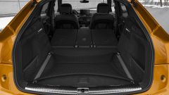 Audi SQ5 Sportback TDI: il bagagliaio con i sedili posteriori abbassati