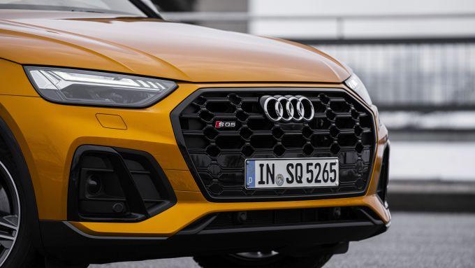 Audi SQ5 Sportback TDI: il frontale