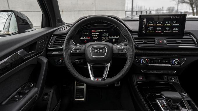 Audi SQ5 Sportback TDI: l'abitacolo