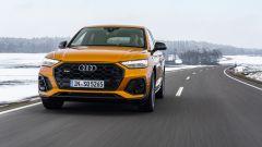 Audi SQ5 Sportback TDI: visuale anteriore