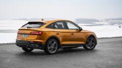 Audi SQ5 Sportback TDI: visuale di 3/4 posteriore