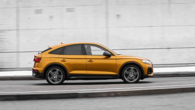 Audi SQ5 Sportback TDI: visuale laterale