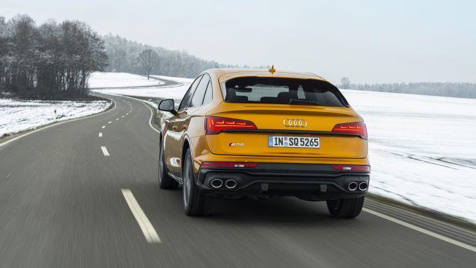 Audi SQ5 Sportback TDI: visuale posteriore