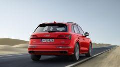 Audi SQ5: vista posteriore