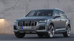Audi SQ7 TDI 2019, il frontale