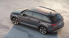 Audi SQ7 TDI 2019, immagine aerea