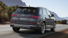 Audi SQ7 TDI 2019, vista 3/4 posteriore
