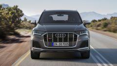Audi SQ7 TDI 2019, vista di fronte