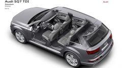 Audi SQ7 TDI: prova video della Suv con compressore elettrico - Immagine: 33