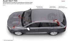 Audi SQ7 TDI: prova video della Suv con compressore elettrico - Immagine: 38