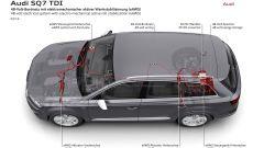 Audi SQ7 TDI: prova video della Suv con compressore elettrico - Immagine: 46