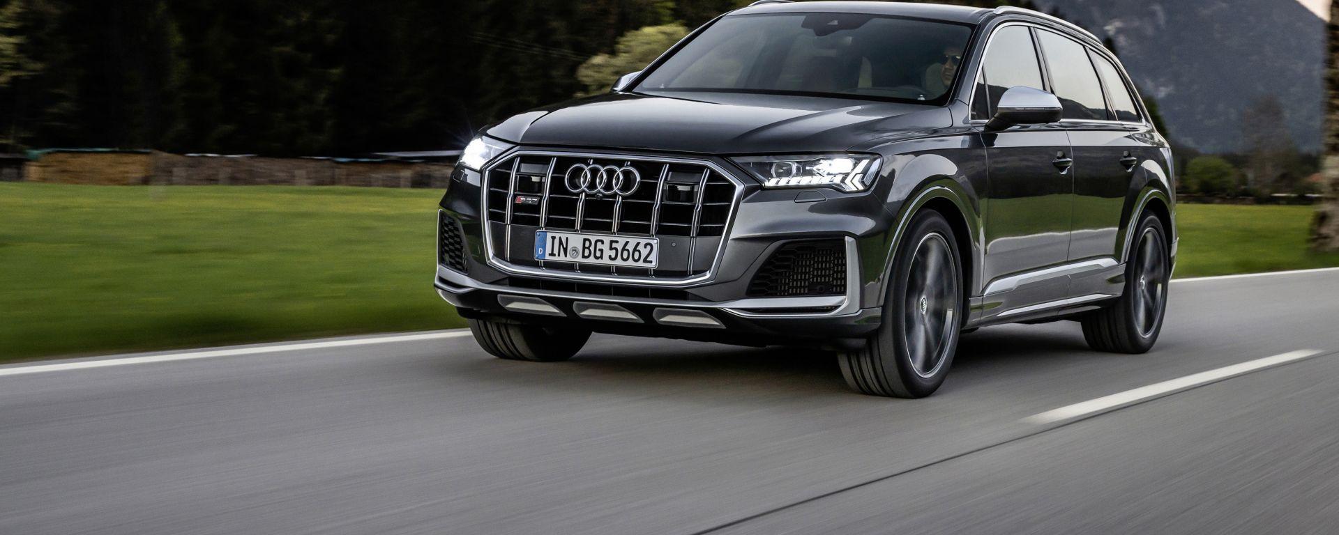 Audi SQ7 V8 4,0 litri benzina