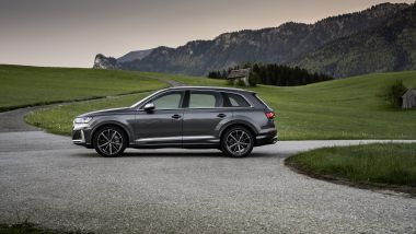 Audi SQ7: visuale laterale