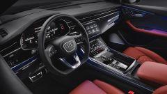 Audi SQ8: dettaglio dell'abitacolo