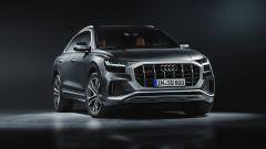 Audi SQ8: il frontale