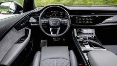 Audi SQ8: il posto di guida